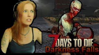 Movie Night With a Bang | 7 Days To Die - Day 106 | Darkness Falls Mod (Alpha 19)