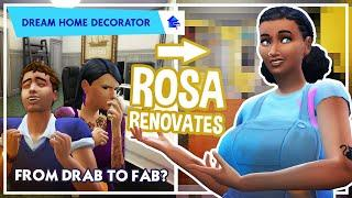 Rosa's Dream Home Decoration Sims 4 -  From Flipping Houses to Interior Decorator